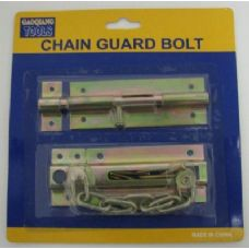 2pc Chain and Slide Guard Bolts