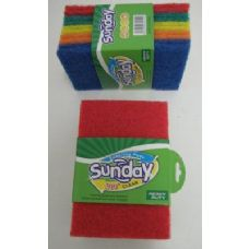 10pk Colored Scrubbers