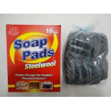 10pk Steel Wool Soap Pads