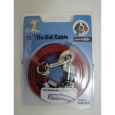 15' Dog Tie Out Cable