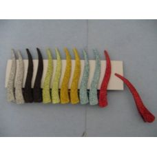 """3"""" 12pc Hair Clips-Small-Solid Sparkles"""