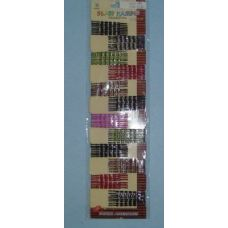96pc Colored Bobby Pins