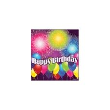 Birthday Blast Beverage Napkins - 16ct.