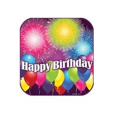 "Birthday Blast 9"" Plate - 8ct."