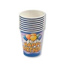 Birthday Balloon Cups - 8CT.