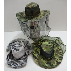 Camo Mesh Boonie with Mesh Flap
