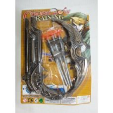 10 Inch Toy Crossbow with 3 Arrows