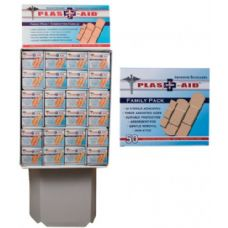 50 Count Adhesive Bandages In Display