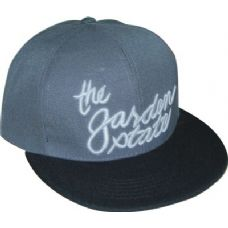 Flat Fitted Baseball Cap With NJ Garden State Design