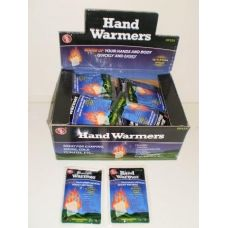 Hand warmers in display