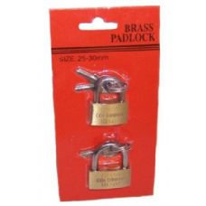 Brass Mini Padlocks