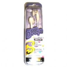 Ear Drop Stereo Earphones For Ipods