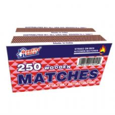 2 Pack Matches 250CT