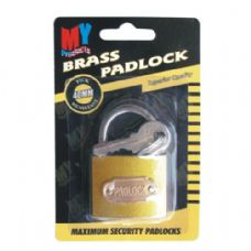 Lock Brass 40mm