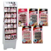 NAILS 12 PACK SELF AFHESIVE ASSORTED DISPLAY