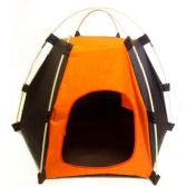 HEXAGON DOG TENT TWO TONED 25.20 X 25.20 X 17.72 INCHES