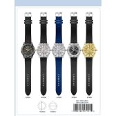 41MM Milano Expressions Silicon Band Watch - 47905-ASST