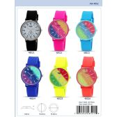 41MM Milano Expressions Silicon Band Watch - 48523-ASST