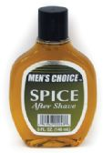 MEN'S CHOICE AFTER SHAVE 5 OZ SPICE MADE IN USA