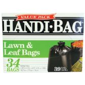 HANDI BAG LAWN AND LEAF BAGS 34 COUNT 39 GALLON VALUE PACK