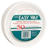 EASY WAY 6 50 CT PAPER PLATE MICROWAVE SAFE