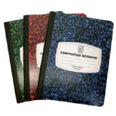 COMPOSITION NOTEBOOK 100 SHEET 9.75 X 7.5 INCH WIDE RULE