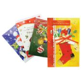 PRIDE CHRISTMAS CARD 5.5 X 7.75 INCHES ASSORTED 3-D DESIGNS
