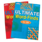ULTIMATE WORD FIND BOOK 97 PAGES ASSORTED VOLUMES MADE IN USA PREPRICED $3.95