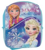 BACKPACK 16 WITH FRONT POCKET FROZEN ELSA AND ANNA MAGIC OF THE NORTHERN LIGHTS