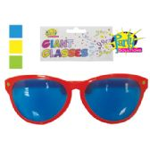 GIANT PARTY GLASSES 10 INCH ASSORTED COLORS