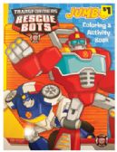 TRANSFORMERS JUMBO COLORING AND ACTIVITY BOOK 96 PAGES PREPRICED $1.00