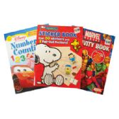 ACTIVITY BOOK ASSORTED DESIGNS PREPRICED $3.99
