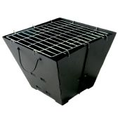 CHARCOAL GRILL PORTABLE 14 X 14 INCHES