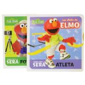 ELMO PUZZLE BOOK SPANISH ASSORTED 15 STYLES