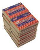 WOODEN PENNY MATCHES 10 PACK 32 COUNT