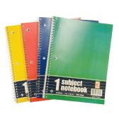 SPIRAL NOTEBOOK 70 SHEET 10.5 X 8 IN 1 SUBJECT WIDE RULED