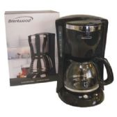 BRENTWOOD COFFEE MAKER 12 CUP BLACK ETL LISTED