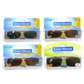 POLARIZED CLIPONS SOLAR SHIELDSCRATCH RESISTANT FOR PLASTIC AND THICK FRAMES