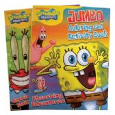 SPONGEBOB COLORING AND ACTIVITY BOOKS 96 PAGES ASSORTED VOLUMES