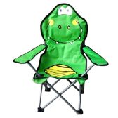 CAMPING CHAIR FOR KIDS 26 X 14 X 14 CROCODILE DESIGN