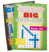 GREAT BIG WORD FIND 97 PAGES ASSORTED VOLUMES MADE IN USA PREPRICED $3.95