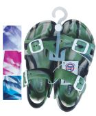 UNISEX SANDALS ADJUSTABLE STRAPS TODDLER ASSORTED SIZES 5-10 AND COLORS