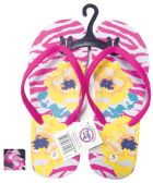 LADIES FLIP FLOP FLOWERS ASSORTED SIZES 5-10 AND COLORS