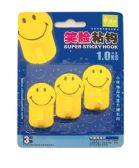 HOOK WITH SUPER HOLD ADHESIVE 3 PACK