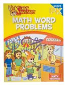 KENNY KANGAROO PRE-K WORK BOOK 32 PGS MATH WORD PROBLEMS PRE PRICED $2.97