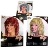 PARTY SOLUTIONS TINSEL WIG 3 A