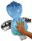 HAND SHELL HOME MANICURE WITH 3 COMPARTMENTS AS SEEN ON TV