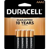 DURACELL AAA 8 PK COPPERTONE BATTERIES