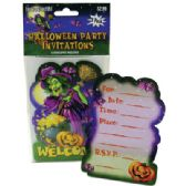 HALLOWEEN PARTY INVITATIONS 8 COUNT WITH ENVELOPES