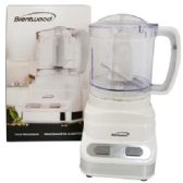 BRENTWOOD FOOD PROCESSOR 3 CUP 2 SPEED WHITE CUL LISTED